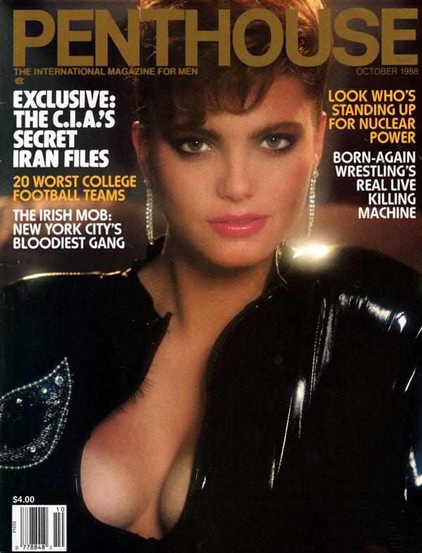 penthouse october 1988 adult magazine back issue penthouse. Black Bedroom Furniture Sets. Home Design Ideas