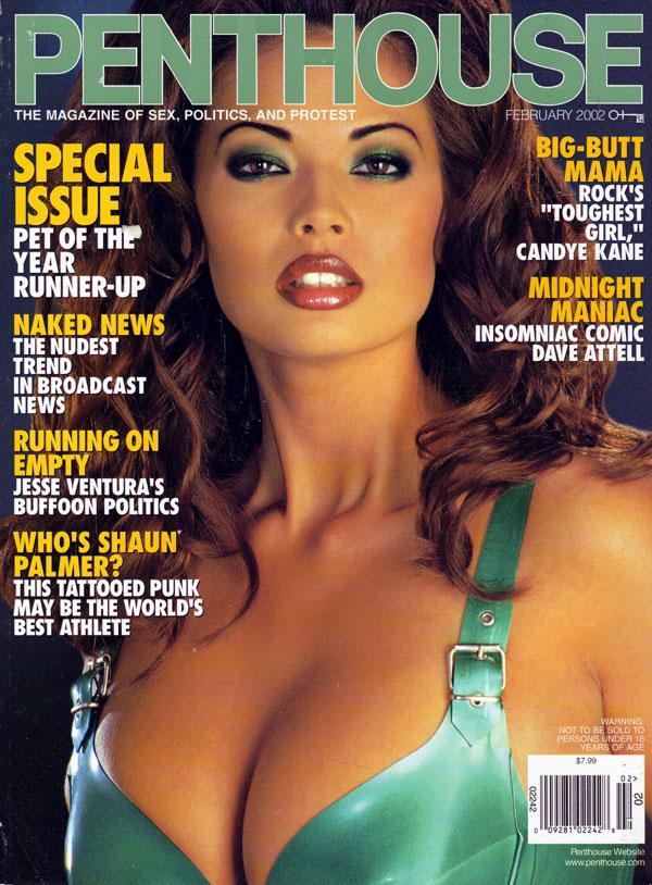penthouse february 2002 adult magazine back issue penthouse. Black Bedroom Furniture Sets. Home Design Ideas