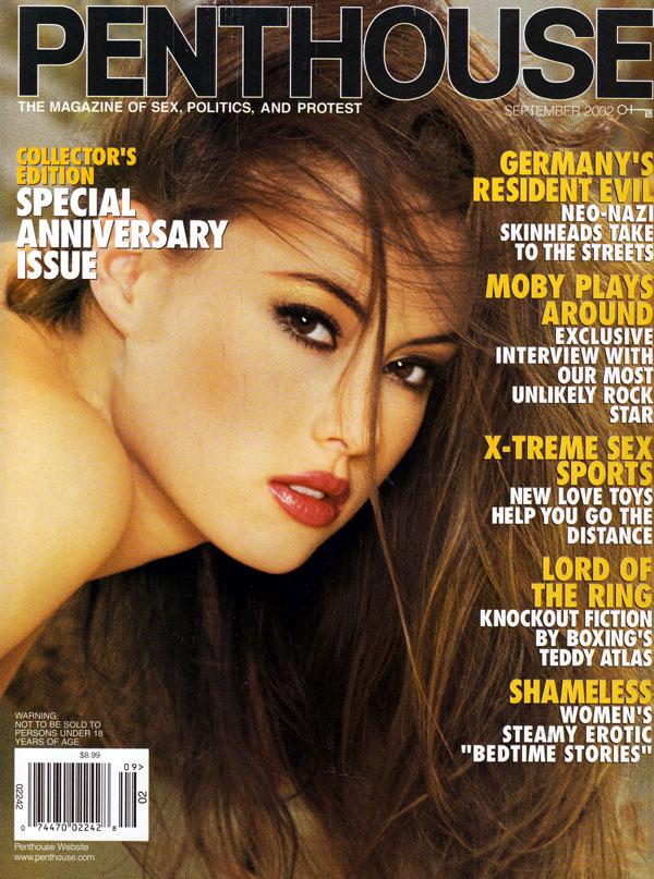 penthouse september 2002 adult magazine back issue penthouse. Black Bedroom Furniture Sets. Home Design Ideas
