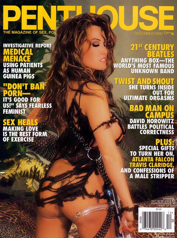 Penthouse December 2002 magazine back issue Penthouse magizine back copy december 2002 penthouse magazine, sex heals, twist and shout, sexy nude girls, politics left wing ri