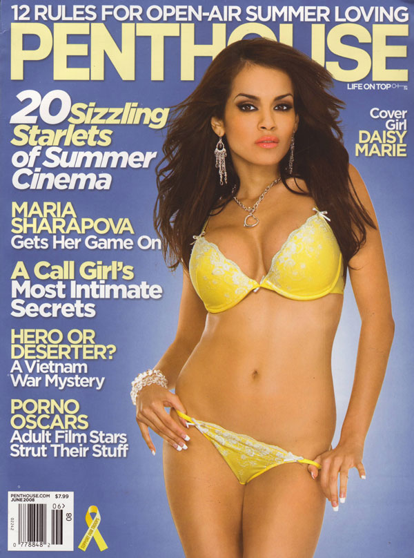 Penthouse June 2008 magazine back issue Penthouse magizine back copy rules for openair summerloving penthouse magazine style sextips sizzling starlets of summer cinema p