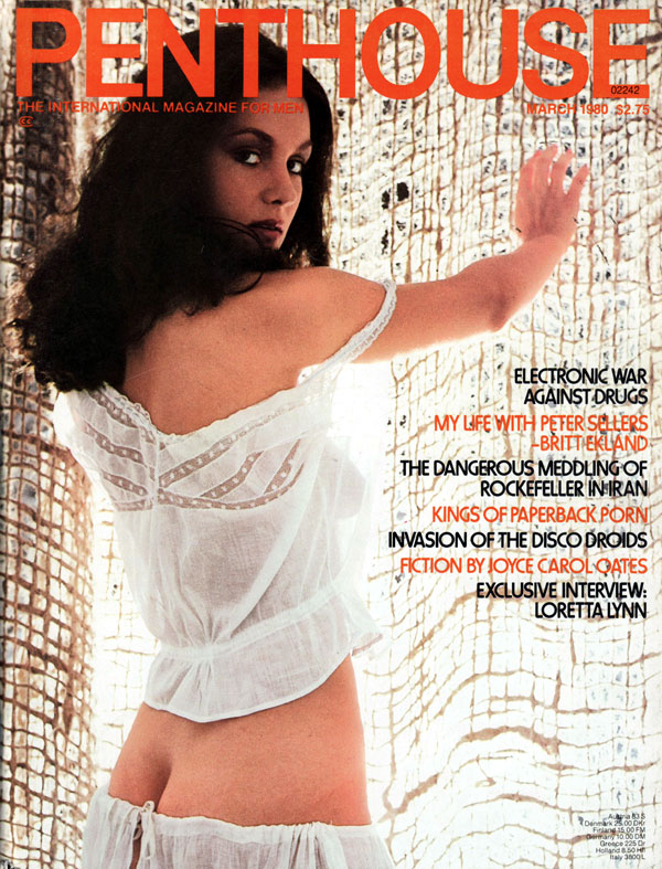 penthouse march 1980 adult magazine back issue penthouse. Black Bedroom Furniture Sets. Home Design Ideas