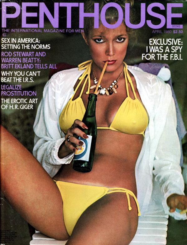 penthouse april 1980 adult magazine back issue penthouse. Black Bedroom Furniture Sets. Home Design Ideas