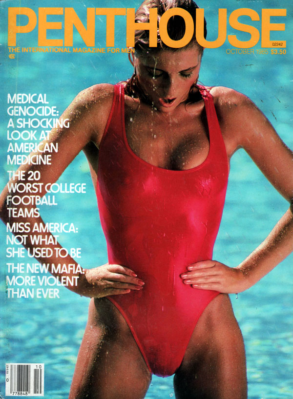Penthouse October 1985 magazine back issue Penthouse magizine back ...