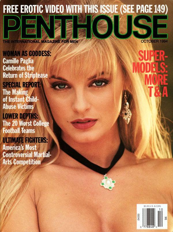 penthouse october 1994 adult magazine back issue penthouse. Black Bedroom Furniture Sets. Home Design Ideas