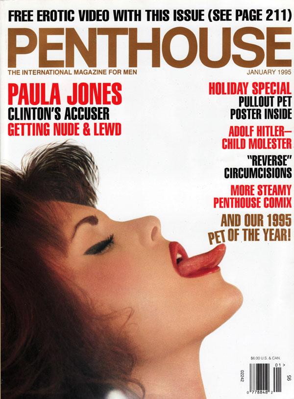 penthouse january 1995 adult magazine back issue penthouse. Black Bedroom Furniture Sets. Home Design Ideas