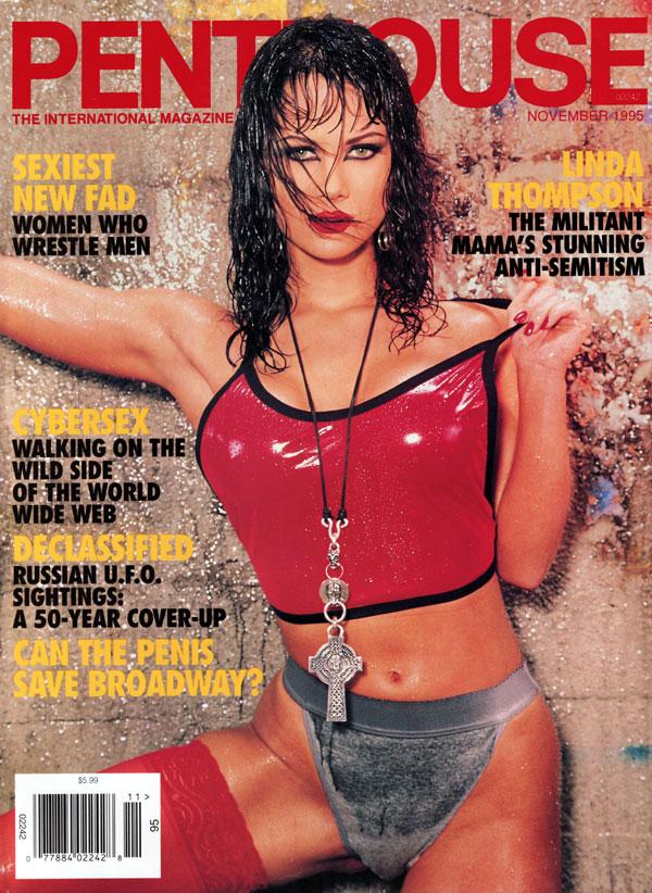 penthouse november 1995 adult magazine back issue penthouse. Black Bedroom Furniture Sets. Home Design Ideas