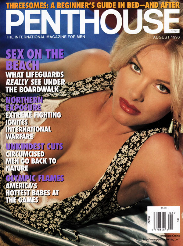 penthouse august 1996 adult magazine back issue penthouse. Black Bedroom Furniture Sets. Home Design Ideas