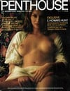 may 1975 penthouse magazine cover, internaitonal mag for men of sex protest and politics, back issue Magazine Back Copies Magizines Mags