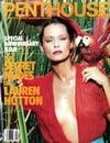 Lauren Hutton magazine cover Appearances Penthouse September 1986