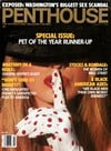 march 1990 penthouse magazine, pet of the year runner-up issue, international magazine for men, back Magazine Back Copies Magizines Mags