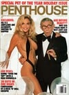 Penthouse January 1992 magazine back issue