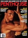 Jean-Claude Van Damme magazine cover Appearances Penthouse August 1992