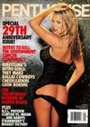 september 1998 penthouse magazine, 29th anniversary issue, nude girl pictorials, right-left wing pol Magazine Back Copies Magizines Mags