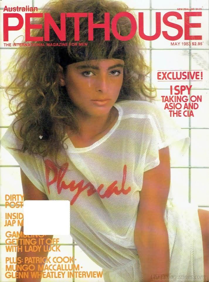 penthouse australia may 1983 magazine back issue penthouse australia. Black Bedroom Furniture Sets. Home Design Ideas