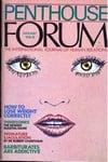Penthouse Forum January 1974 magazine back issue