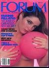 Penthouse Forum November 1985 magazine back issue