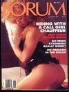 Penthouse Forum January 1987 magazine back issue