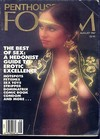 Penthouse Forum August 1987 magazine back issue