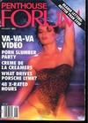 Penthouse Forum January 1989 magazine back issue