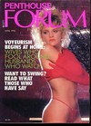 Penthouse Forum April 1990 magazine back issue