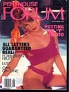Penthouse Forum September 1990 magazine back issue