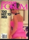 Penthouse Forum October 1990 magazine back issue