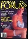 Penthouse Forum January 1992 magazine back issue