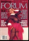 Penthouse Forum March 1994 magazine back issue