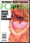 Penthouse Forum June 1998 magazine back issue