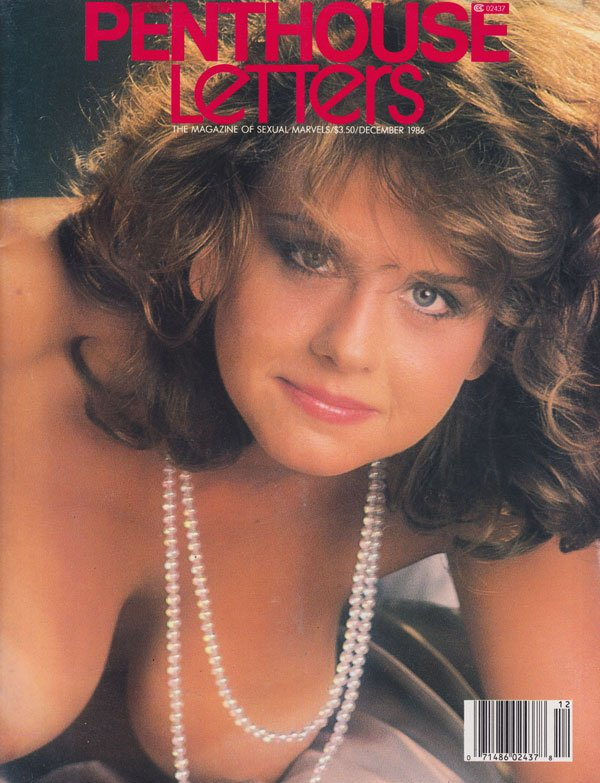 Penthouse Letters December 1986 magazine back issue Penthouse Letters magizine back copy penthouse letters 1986 porn mag back issues hot pearl necklaces explicit erotic spreads tight holes