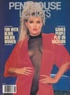 Brandy Sanders magazine cover Appearances Penthouse Letters November 1990