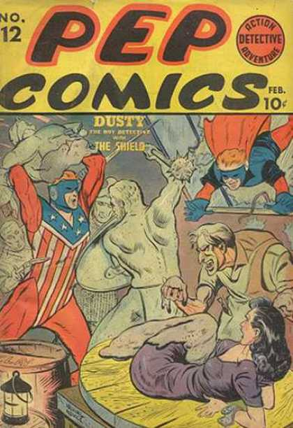 Pep Comics A1 Comix Comic Book Database