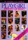 Playgirl Classics March 1986 - The First 13 Years magazine back issue cover image