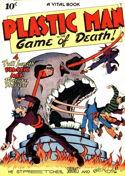 Plastic Man Comic Book Back Issues by A1 Comix