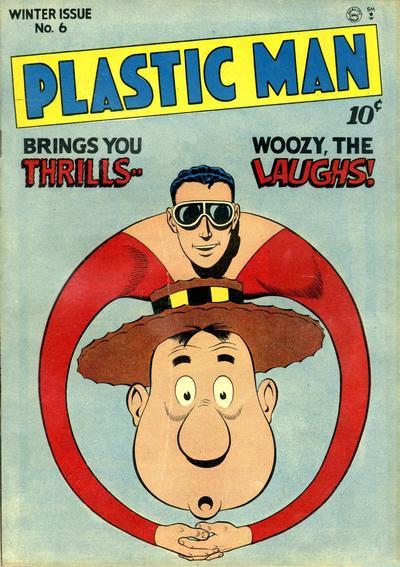 Plastic Man A1 Comix Comic Book Database