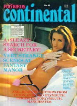 Playbirds Continental Original # 38 magazine back issue Playbirds Continental Original magizine back copy