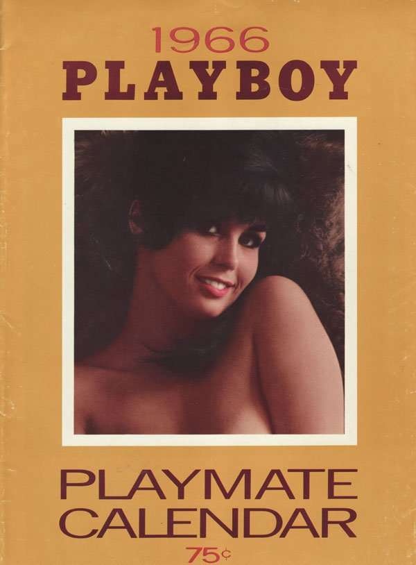 Playboy Playmate Calendar 1966 magazine back issue Playboy Calendar magizine back copy playboy calendar 1966 issue sexy erotics 60 s porn classic hot women topless xxx all natural hot wom