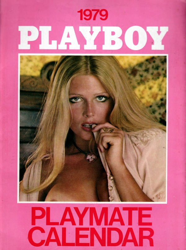 Playboy Playmate Wall Calendar 1979 magazine back issue Playboy Calendar magizine back copy playmate wall calendars, the hottest playmates of the year nude, sexy girls of playboy models,  1979