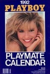 playmate wall calendars, the hottest playmates of the year nude, sexy girls of playboy models,  1992 Magazine Back Copies Magizines Mags