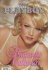 playmatecalendar wallcalednar playboy nakedbeauties posing for year 2000 rabbit head design printed Magazine Back Copies Magizines Mags
