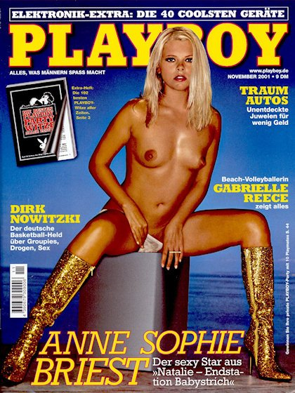 2001 adult magazine november playboy