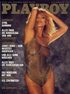 Sybil Danning magazine cover appearance Playboy Germany August 1983