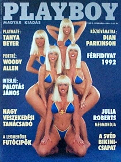 the swedish bikini team in playboy
