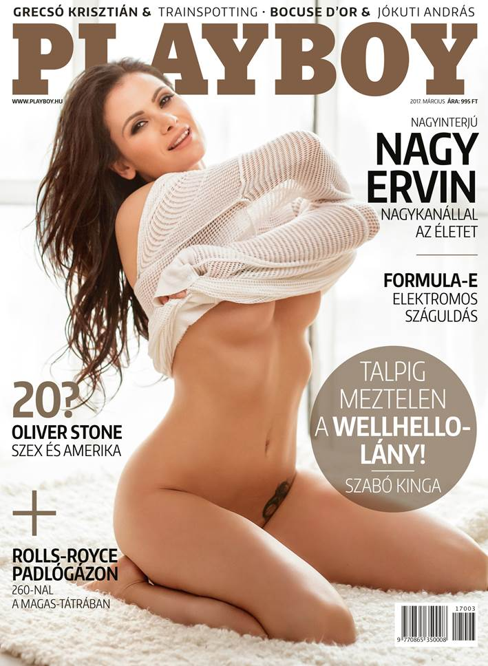 Playboy (Hungary) March 2017 magazine back issue Playboy (Hungary) magizine back copy