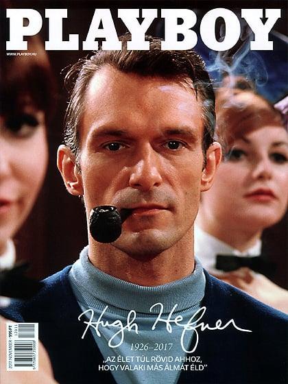 Playboy (Hungary) November 2017 magazine back issue Playboy (Hungary) magizine back copy