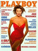 Playboy Hungary April 1990 magazine back issue