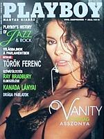 Playboy Hungary September 1990 magazine back issue