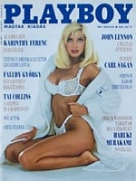 Playboy Hungary March 1992 magazine back issue