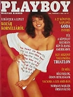 Playboy Hungary February 1993 magazine back issue